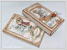 Her er to Toffifee esker laget med de nye julepapirene fra Maja Design. Christmas Time, Christmas Crafts, Christmas Decorations, Chocolate Card, Diy And Crafts, Paper Crafts, 3d Cards, Scrapbook Cards, Scrapbooking