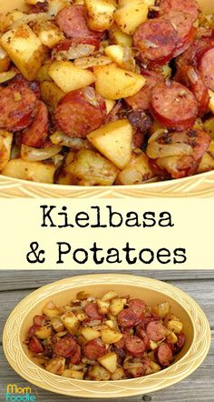 kielbasa and potatoes - easy Kielbasa recipeYou can find Kielbasa recipes and more on our website.kielbasa and potatoes - easy Kielbasa recipe Easy Kielbasa Recipes, Smoked Sausage Recipes, Easy Potato Recipes, Pork Recipes, Cooker Recipes, Polish Sausage Recipes, Polish Keilbasa Recipes, Crockpot Keilbasa Recipes, Kilbasa Sausage Recipes