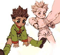 Gon Freecs and hisoka Hunter x Hunter (favorite artist) hisogon