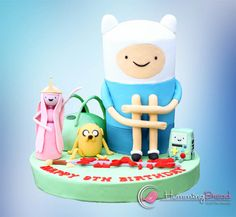 Adventure Time - Cake by HummingBread