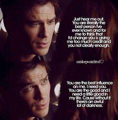 Vampire Diaries. Dam
