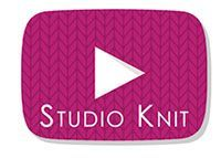 Studio Knit on YouTube Subscribe