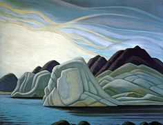 Lawren Harris, South Shore, Baffin Island 31x50 c.1930 Canadian Painters, Canadian Artists, New Artists, Famous Artists, Group Of Seven Art, Group Of Seven Paintings, Landscape Drawings, Landscape Art, Landscape Paintings