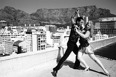 Salsa let-s-dance...I would love to dance on a roof top in the mountains on a hot sunny day w/ my man
