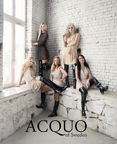 https://flic.kr/p/M15NTq | ACQUO of Sweden #blackrubber #rubberboots #fashion #black