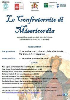 """Galleria Medievale: """"Le confraternite di Misericordia"""" Mostra diffusa"""