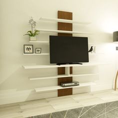Your home should tell the story of who you are, and be a collection of what you love. Get our Zebra White and Walnut TV Unit on our website for only $282.21, and spice up your living room. Link in bio!  Tags: #doseofmodern #Room #roomdecor #roomwithaview #rooms #roomforinspo #roommates #roomies #roominspiration #roommate #roominspo #roomdesign #roomservice #roomforgirl #roomgoals #roomie #roominterior #roomtour #roomdecoration #RoomClip #roomescape #roomates #roommakeover #roomporn #roomview Tv Unit Furniture, Modern Furniture, Room Goals, Room Tour, Particle Board, Room Interior, Room Inspiration, Teak, Room Decor