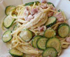Pasta cremosa con zucchine e pancetta ricetta il mio saper fare