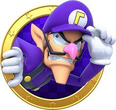 Waluigi - Mario Party: Star Rush