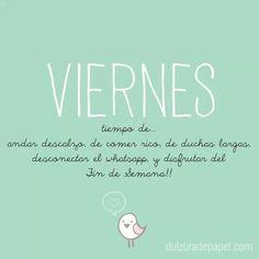 #Viernes #palabras #vida #disfrutar