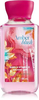 Amber Blush Travel Size Shower Gel - Signature Collection - Bath & Body Works