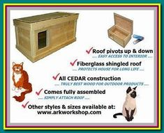 (paid link) ... different monitors, the picture may not reflect the actual color of the item. Thank you! 1*dog houses - Buy Pet Products Outdoor Kitty House, Insulated cat house outdoor. #cathouseoutdoor Outdoor Cat Shelter, Outdoor Cats, Roof Edge, Lag Bolts, Vinyl Cutter, Merry Christmas And Happy New Year, Animal House, Workshop, Pets