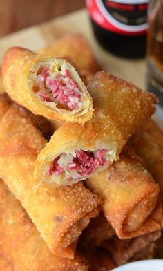 Unbelievable egg rolls perfect for celebrating St. Patrick's Day or just because. Reuben Egg Rolls are made with corned beef, cheese and sauerkraut, fried to golden deliciousness, and served with Thousand Island dressing. Don't forget to sign up for email, you'll be able to know soon after the new recipe is posted. I am definitely warming up...Read More »