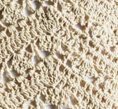 Inspiration only- no pattern. Feliciter Hand Crochet Blanket - Oatmeal