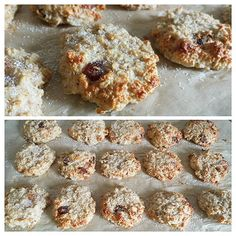 https://www.instagram.com/p/5Xk06UvAAL/ Ein super Snack für unterwegs: Hafer-Cookies Zutaten (15-16 Cookies): 150g zarte Haferflocken 150g Magerquark 150g Eiklar (Eiklar von 5 Eiern) 1/2 Päckchen Backpulver Optional: 15g Sultaninen 15g getrocknete Aprikosen Stevia/Süßungsmittel nach Wahl Zubereitung: Alles in eine Schüssel und gut verrühren, danach auf einem mit Backpapier ausgelegten Blech 15 Cookies formen und bei 160° Umluft ca. 30-40min backen. Natürlich kann man alles auch noch mit…