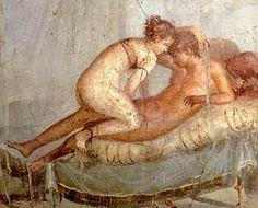 la habitacion secreta. pintura pompeyana