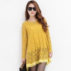 Hstyle - Lace Swing Dress $84.00 http://www.shop.secretenvy.com/Hstyle-Lace-Swing-Dress-20129029.htm
