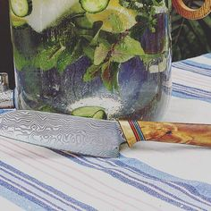 Mohac The Chopper #mohacsweden #mohac #mohacknife #knife #kitchenknife #chopper #malmö #sweden #swedishdesign #scandinavian #quality #kitchentool #sharp #damaskussteel #summer2016 #food #lifequality #specialmade #craftmanship #custommade