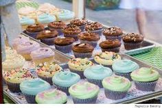magnolia cupcakes - Google Search