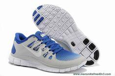 01579bd18154 579960-410 Breathe Hyper Blue White Pure Platinum Shoes Mens Nike Free 5.0  Sale Nike