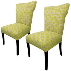 I pinned this Bella Side Chair in Citrus (Set of 2) from the Look: Spirited event at Joss and Main!