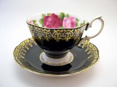 Antique Royal Albert Tea Cup And Saucer Old by AntiqueAndCrafts