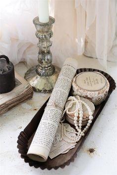 Seifenschalen & -spender Treu Jeanne D´arc Living Seifenschale Wandschale Metall Powder Rose Shabby Vintage