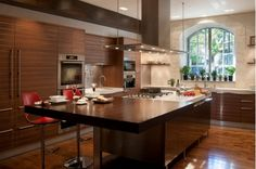 kitchen integral cabinetry wood - Home and Garden Design Idea's