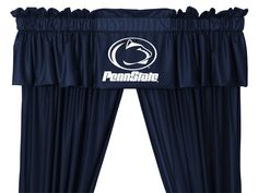 Penn State Nittany Lions NCAA Window Treatment LR Valance Only