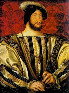Title: Portrait of Francis I, Roi de France, c.1525/30 Artist: Jean the Younger Clouet Location: Louvre Museum Paris France