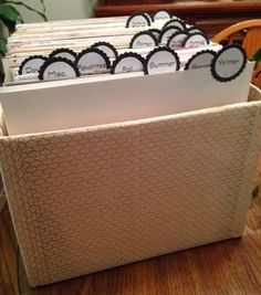 Budget 12 x 12 paper storage