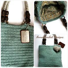 Crochet Handbag  By AnnooCrochet Designs