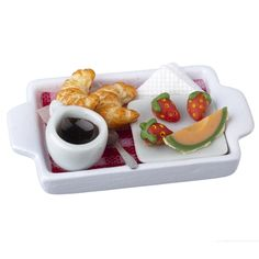Continental Breakfast-in-Bed Tray