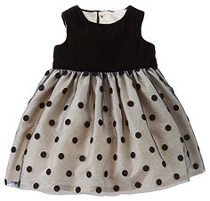 Carters Velour Dress Baby  Black3 Months *** Want to know more, click on the image.