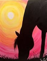 Image result for Acrylic Horse Paintings for Beginners