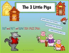 Retelling With The 3 Little Pigs