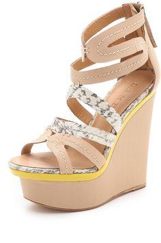 Jenelle Wedge Sandals
