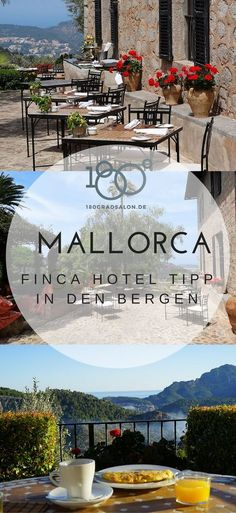 Mallorca - Finca Hotel Tipp in den Bergen. Ein magischer Ort mit Restaurant