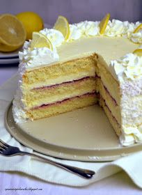 Food Cakes, Cupcake Cakes, Baking Recipes, Cake Recipes, Cherry Brownies, Chocolate Covered Cherries, Plum Cake, Types Of Cakes, Polish Recipes