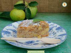 Bizcocho de manzana fácil. Easy apple cake.