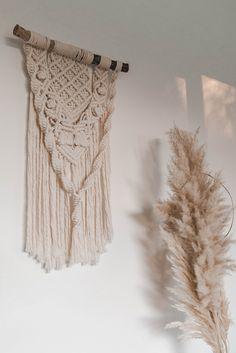 Boho inspired macrame wall hanging Macrame, Boho, Inspired, Wall, Home Decor, Decoration Home, Room Decor, Bohemian, Walls