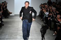 Isaac Mizrahi...what other type of dog did you think he'd have?