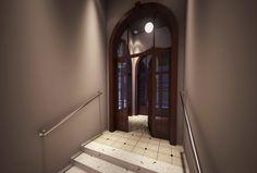 Imágen 3D Hall de Ingreso - Arq. Crivello Carolina & Parmigiani Virginia.