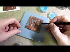 Polymer Clay | Tutorial DIY Facile | Effetto Mosaico Foil | Mosaic Foil Effect - YouTube