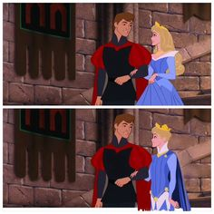 Sleeping Beauty gay genderbend Auron and Phillip by BriarsandThorns.deviantart.com on @deviantART