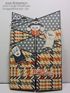 Googly Ghouls Fun Fold by junior tx - Cards and Paper Crafts at Splitcoaststampers