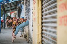 Gratitude—that's what New York-based photographer Omar Roblestook away with him after his latest experience photographing ballet dancers in urban backdrop