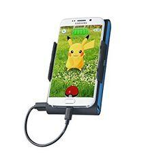 CTA Digital External Battery Pack for Universal/Smartphones, Black/Blue Universal Battery Charger, Battery Pack Charger, Pokemon Go, 6s Plus, Smartphone, Iphone, Digital, Ebay, Galaxy