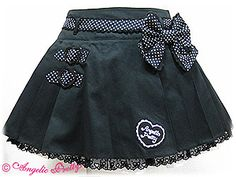 Lovely Girl Pleated Skirt by Angelic Pretty Baby Girl Skirts, Baby Skirt, Little Girl Dresses, Girls Dresses, Toddler Fashion, Kids Fashion, Fashion Outfits, Kids Outfits, Cute Outfits