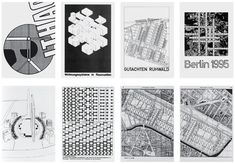 Architecture 1966–1969, TU Berlin. O.M. Ungers with Guido Ast, Heidede Becker, Claas Corte, Uwe Evers, Ulrich Flemming, Stephen Katz, Henner Oppermann, Horst Reichert, and Volker Sayn. Images courtesy of the Technical University of Berlin.